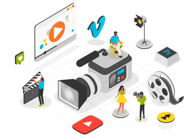 video production service illustration montreal